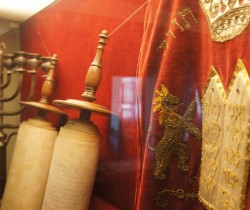 Judaica in the Regional Museum in Nowy Sącz exhibition